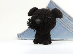 Amigurumi  Black Brussels Griffon crochet brussels by Owlystore