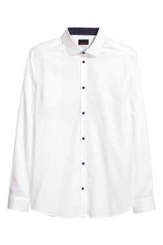 Camisa em algodão premium