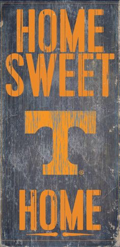 Is your home a Tennessee Football Home? Then you need this sign. This Tennessee sign is perfect for displaying around the home. It includes a piece of rope attached to the back for hanging. The sign i
