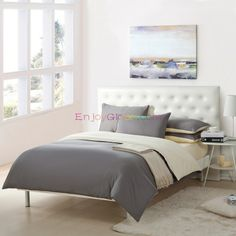 Gray and Beige Bedding Sets