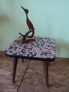 Mosaic table sixties by Veryodd on Etsy, $35.00