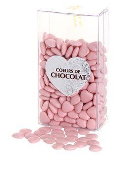 drages coeurs au chocolat rose tatifr - Drag Mariage