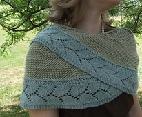 The inspiration for Piper's Journey came when I needed a knitting project for travel. I wanted something simple that would require minimal attention. A bonus feature of this shawl is that an exact stitch count is not necessary when starting the lace border. It is easy to adjust the size of the shawl. Allow a little over one third of the total yardage for the border.
