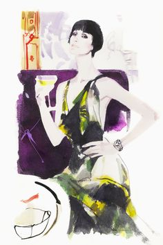 David Downton Fumoir Series Claridge's artist in residence interview his famous subjects (Vogue.com UK)