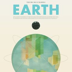 Our planet designed by Stephen di Donato. Today is Earth day! #buylocal means #polluteless #savethebees