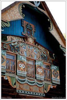 Talashkino, near Smolensk, Russia. #russianstyle