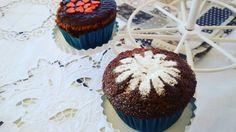 Tortine al cacao, con decorazioni di zucchero a velo! 💖  #diariodeicapriccidiflo #cooking #recipes #ricette #dolciumi #pasticceria #bakery #bake #sweets #dolci #party #cupcakes #ideas #cacao #chocolate