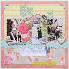 Layout by Jana Eubank for MME using the new Find Your Wings collection