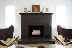 1000 Images About Painted Fireplace On Pinterest