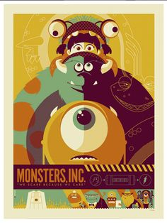 Mosters Inc poster