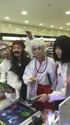 NO BUT OMG JONGHYUN IS INUYASHA AND TAEMIN IS HOWL FROM HOWL MOVING CASTLE AND IM FANGIRLING SO HARD RIGHT NOW OMG