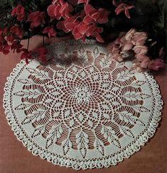 Crochet Art: Doilies - Crochet Doily - Beautiful White Doily
