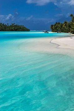 Cook Islands • New Zealand • Great Beach