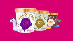 Try Halo Top, Americas pint. Natural Ice Cream, Food Graphic Design, Satisfying Video, Ads Creative, Social Media Design, Inspirational Videos, Stop Motion, Motion Design, Motion Graphics