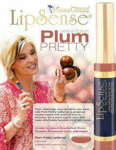 Plum Pretty LipSense, Long Lasting Liquid Lip Color.