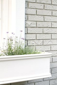 Diy Window Planters Filled With An Edible Garden - Julie Blanner Entertaining…