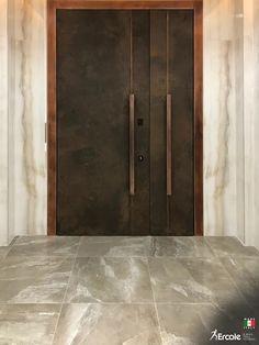 Wooden Front Door Design, Door Gate Design, Door Design Interior, Wooden Doors, Modern Entrance Door, Home Entrance Decor, Modern Door, Modern Windows And Doors, Contemporary Front Doors