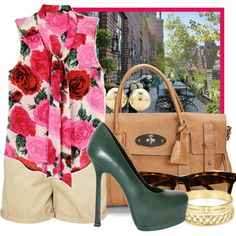 Brunch on the Terrace, created by ssquared on Polyvore