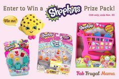 If you haven't already heard about Shopkins, they're a pretty big deal! Then enter to win a fab prize pack! Shopkins Food Fair, Frugal, Giveaway, Fun, Image, Toys, Activity Toys, Budget, Toy