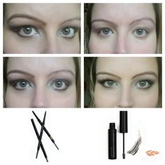 My eyebrows have been demolished from years of over-plucking!  The brow kit from Younique consists of a pencil (which has a brush on the end) and a brow gel (containing fibers to thicken the appearance of your brows). I still like to keep a subtle look to mine and the brow kit is perfect for that. Available in three shades, I use Medium.