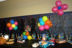 70's party decorations
