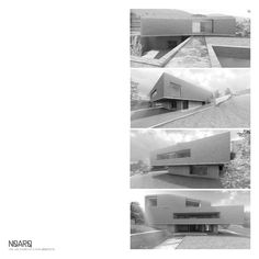 RPFV HOUSE - Preliminary draft rendering - #noarq #construction #house #render #model #architecture #slate #greydesign #white by José Carlos Nunes de Oliveira - © NOARQ