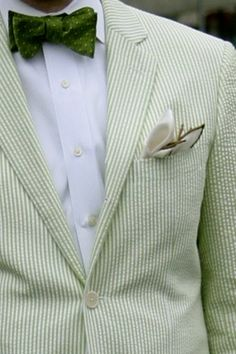 green gingham close up.