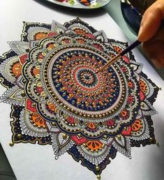 Magnificent Mandala Designs by MoslehUK based artist Asmahan A. Mosleh's loves intricate mandala designs and it is evident in all of her creations.[[MORE]] The artist seeks inspiration from temples, mosques and exotic architecture from all across the. Mandala Drawing, Mandala Painting, Mandala Artwork, Mandala Tapestry, Mandala Tattoo, Mandala Design, Geometric Mandala, Poster Design, Design Art