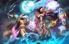 Wicked World of Warcraft Art