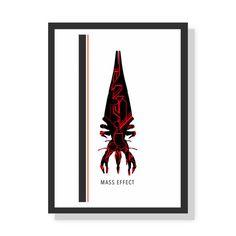 Reaper - Mass Effect - Premium A2 LARGE poster print