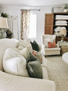 16 Inspiring Farmhouse Living Room Decor and Design Ideas