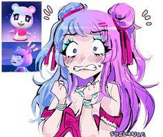 Animal Crossing Fan Art, Animal Crossing Characters, Animal Crossing Memes, Animal Crossing Villagers, Animal Games, My Animal, Character Art, Character Design, Nintendo