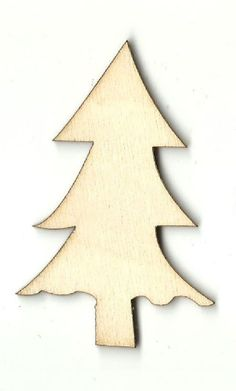 MDF Wooden Tree Shape Blank Craft Family Frame Family Christmas Bauble Tree