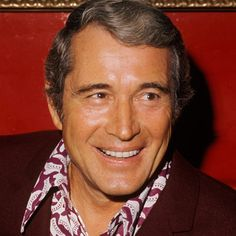 Singer Perry Como is best known for his warm baritone crooning which came to characterize popular music in the 40s and 50s.