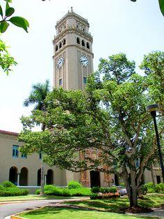 University of Puerto Rico Clock Tower, Rio Piedras
