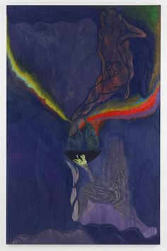 Ovid – Windfall, by Chris Ofili (2011-12). His works reflect his belief that sex and lust were the driving forces that led to the fates of Actaeon and Callisto