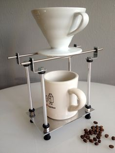 Single - Metal Pour Over Coffee Stand