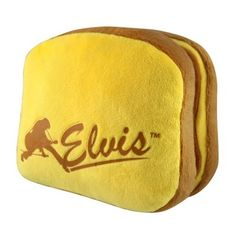 Elvis PB and Bananas Plush Sandwich Dog Toy by Crowded Coop * Find out more about the great product at the image link.