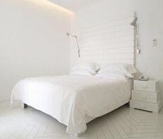 ALL WHITE. texture with the head board, but need a little sparkle..