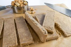 Sweet + Salty Coconut Cashew Bars | RachaelsGoodEats | Bloglovin'
