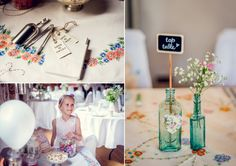 A Pretty 'Minna' Gown and Wildflowers for a Midsummer Night's Dream Inspired Wedding | Love My Dress® UK Wedding Blog
