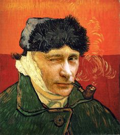 Vincent van Gogh and Vladimir Putin