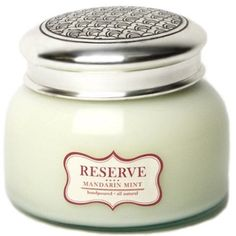 Aspen Bay Reserve 20 oz Jar Candle (Mandarin Mint)