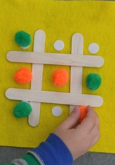 Tic-Tac-Toe-on-the-Go -- Thanks to Velcro You Can Play Anywhere!