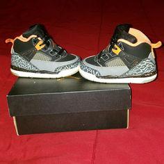 new concept 939c8 b0008 Jordan Shoes   Toddler Jordan Shoes   Color  Black Orange   Size  6bb