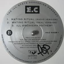 Mating Ritual single from the classic ILLA L.P