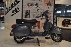 Vespa PX 125 grey Lml Vespa, Vespa Ape, Vespa Lambretta, Vespa Px 125, Motor Scooters, Vespa Scooters, Classic Vespa, 60s Mod, Vespas