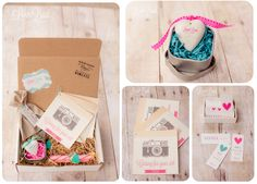 Photography Packaging| Lovebud Photography #Packaging #Brand