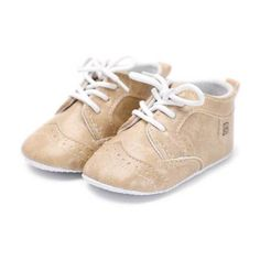New born Baby Shoe Kids Boy Girl Soft Sole PU Leather Super Cool Infant  Moccaasins Anti-slip Lace-Up Toddler Crib First Walkers 523efc09c