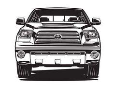 Toyota tundra illustration